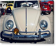 Punch Buggy White Acrylic Print