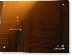 Punching Bag In The Light Acrylic Print by Micah May
