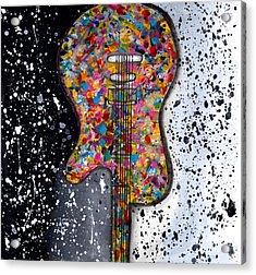 Punk Concept Painting 2 Acrylic Print
