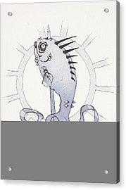 Punk Fish Acrylic Print by Ethan Harris