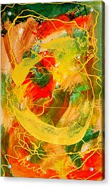Punkin Patch Acrylic Print by Mordecai Colodner