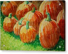 Punkins Acrylic Print by Jame Hayes