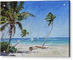 Punta Cana Bavaro - Sea Beach 14 Acrylic Print