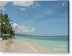 Punta Rucia, Dominican Republic Acrylic Print by Cheryl Baxter