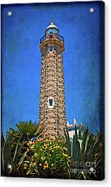 Acrylic Print featuring the photograph Punto Doncela Lighthouse by Mary Machare
