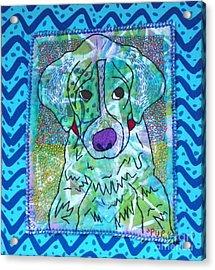 Pup Acrylic Print by Susan Sorrell