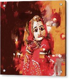 Puppet 435 1 Acrylic Print by Mawra Tahreen