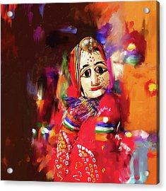 Puppet 435 2 Acrylic Print by Mawra Tahreem