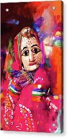 Puppet 435 3 Acrylic Print by Mawra Tahreem