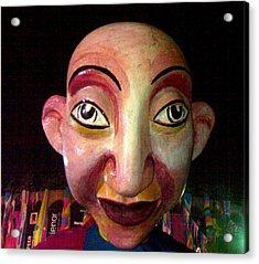 Puppet Kushi Mohamad Acrylic Print