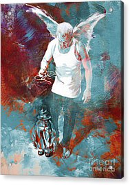 Puppet Man 003 Acrylic Print by Gull G