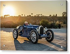 Pur Sang Bugatti Type 35 Acrylic Print by Drew Phillips