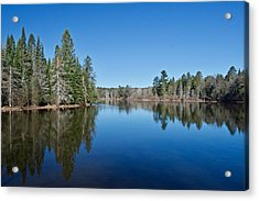 Acrylic Print featuring the photograph Pure Blue Waters 1772 by Michael Peychich