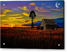 Pure Country Acrylic Print by Gary Smith