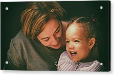 Acrylic Print featuring the photograph Pure Joy by Ryan Smith