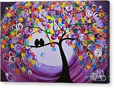 Purple 5518 Acrylic Print