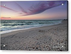 Purple Beach Acrylic Print