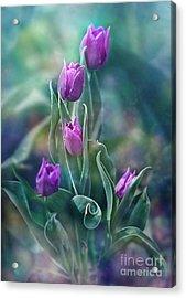 Purple Dignity Acrylic Print