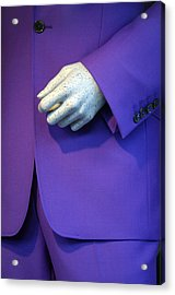 Purple Hand Purple Hand Acrylic Print by Jez C Self