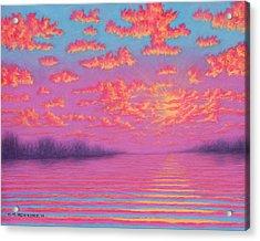 Purple Haze 01 Acrylic Print
