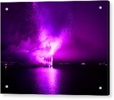 Purple Haze Acrylic Print by Kendall Eutemey