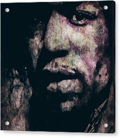 Purple Haze Acrylic Print by Paul Lovering