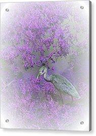 Purple Hideaway Acrylic Print