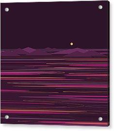 Purple Isles Acrylic Print