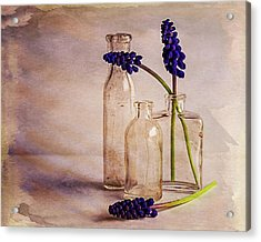 Acrylic Print featuring the photograph Purple by Mary Hone