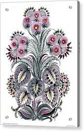 Purple Mood Acrylic Print by Marfa Tymchenko