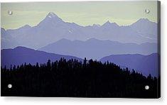 Purple Mountains Majesty Acrylic Print