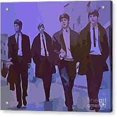 Purple People Eaters Acrylic Print by John Malone