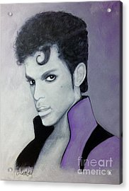 Purple Prince Acrylic Print