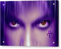 Purple Rain Purple Rain Acrylic Print