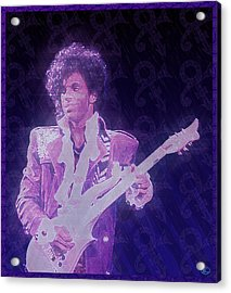 Purple Reign Acrylic Print by Kenneth Armand Johnson