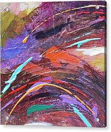 Purple Rush Acrylic Print