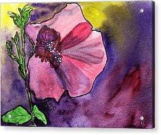 Purple Shadows Acrylic Print by Joan Zepf