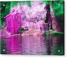 Purple Siren Acrylic Print by Anna Villarreal Garbis