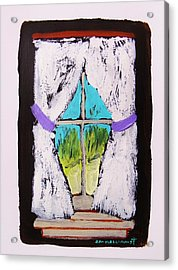 Purple Tiebacks Acrylic Print