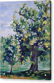 Purple Tree Acrylic Print
