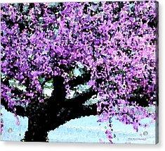 Purple Tree Acrylic Print