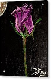 Purple Under The Moon's Glow Acrylic Print