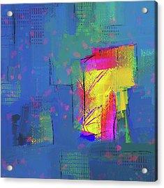 Purplish Rain Acrylic Print