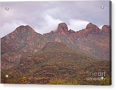 Pusch Ridge Tucson Arizona Acrylic Print