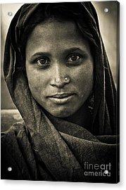 pushkar girl II Acrylic Print