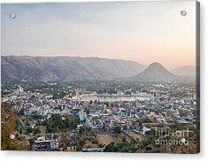 Acrylic Print featuring the photograph Pushkar by Yew Kwang
