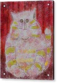 Pussy Cat Acrylic Print