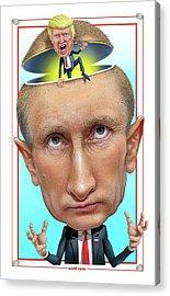 Putin 2016 Acrylic Print