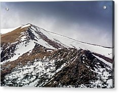 Puy De Sancy. Auvergne. France Acrylic Print by Bernard Jaubert