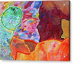 Puzzle Acrylic Print by Ralph White
